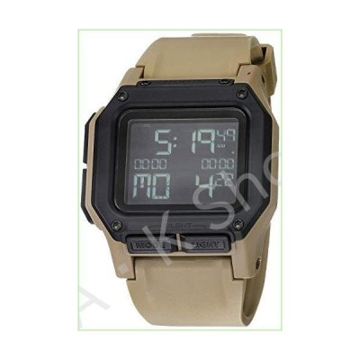 NIXON Regulus A1180 - All Sand - 100m Water Resistant Men's Digital Sport Watch (46mm Watch Face, 29mm-24mm Pu/Rubber/Silicone Band)【並行輸入品