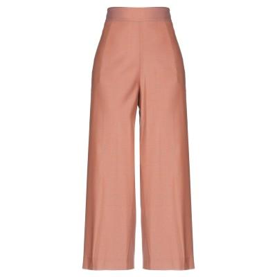 ANTONELLI パンツ 赤茶色 42 バージンウール 54% / レーヨン 42% / ポリウレタン 4% パンツ
