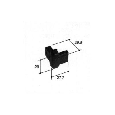旧立山アルミ補修用部品 装飾窓 錠:錠(たてかまち)[PKE3191]