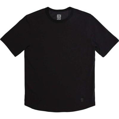 トポ デザイン Topo Designs メンズ ノースリーブ トップス Tech SS Shirt Black