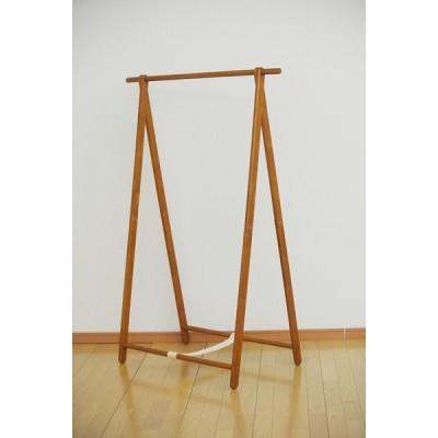 木製シングルハンガー ハンガーラック 木製 スリム 折りたたみ コートハンガー コンパクト 洋服掛け 衣類収納 鞄 おしゃれ
