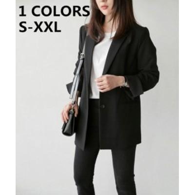 レディース 冬 通勤 オフェンス 秋 ブラック 長袖 体型カパー チェスターコート 大きいサイズ 細身 アウター カジュアル  大きいサイズ