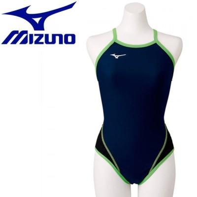 ミズノ スイム 競泳練習用エクサースーツWD ミディアムカット レディース  N2MA777683