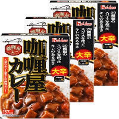 ハウス食品ハウス食品 カリー屋カレー 大辛 200g 1セット(3食入)