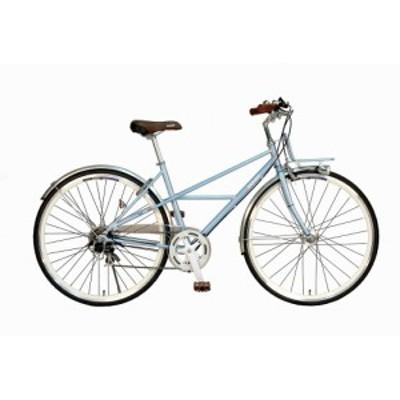 クロスバイク ドゥカティ 自転車 DUCATI 700c 外装7段変速ギア シティサイクルとクロスバイクの中間 700c