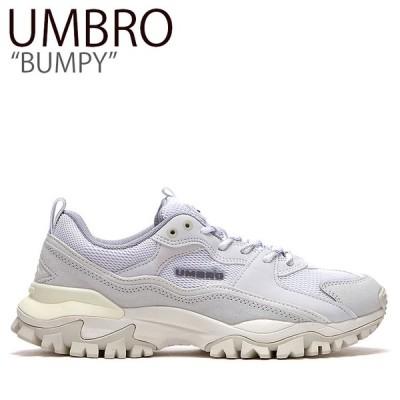 アンブロ スニーカー UMBRO メンズ レディース BUMPY バンピー ダッドシューズ WHITE ホワイト FLUMAA1U00 シューズ