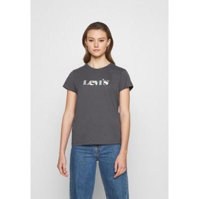リーバイス Tシャツ レディース トップス THE PERFECT TEE - Print T-shirt - blackened pearl