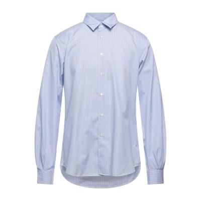 アスペジ ASPESI シャツ アジュールブルー 42 コットン 100% シャツ