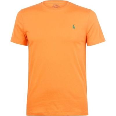 ラルフ ローレン Polo Ralph Lauren メンズ Tシャツ トップス Custom T Shirt Bright Orange