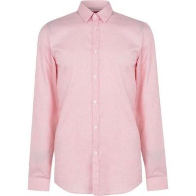 ヒューゴ ボス Hugo メンズ シャツ トップス Keyes Textured Shirt Light Red