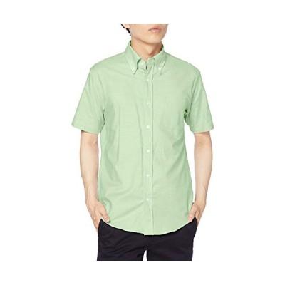アルベ ボタンダウンシャツ(半袖)兼用 EP8604 C-6グリーン 日本 4L (日本サイズ4L相当)