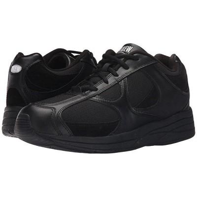 Drew Surge メンズ スニーカー 靴 シューズ Black Leather/Nubuck/Mesh