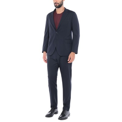 TOMBOLINI スーツ ダークブルー 54 バージンウール 100% スーツ
