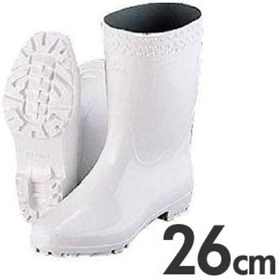 弘進 厨房用長靴(衛生長靴) ゾナGL 耐油性白長靴 26cm