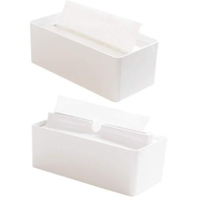 オカ(OKA) fill+fit(フィルフィット) ペーパータオルケース2点セット ホワイト