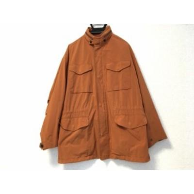 トラサルディー TRUSSARDI コート サイズM メンズ オレンジ ジップアップ/春・秋物【中古】20200410
