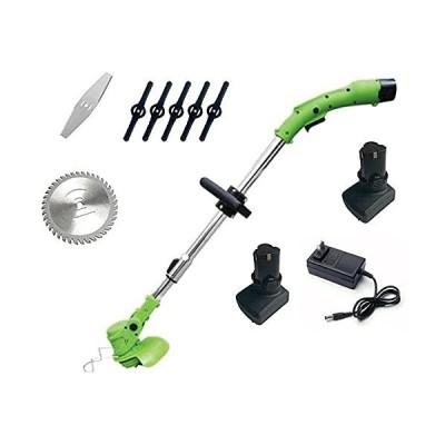 新品HNBMC Cordless String Trimmer Electric Lawn Mower Light Lithium Battery Multifunctional Brush Cutter Household Weeder Garden Brush Cut