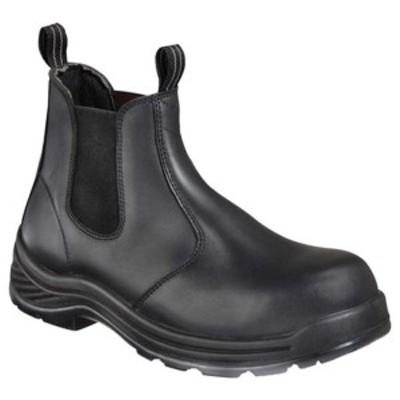"""ソログッド レディース ブーツ&レインブーツ シューズ 6"""" Quick Release Station Boot 834-6034 Black Full Grain Leather"""