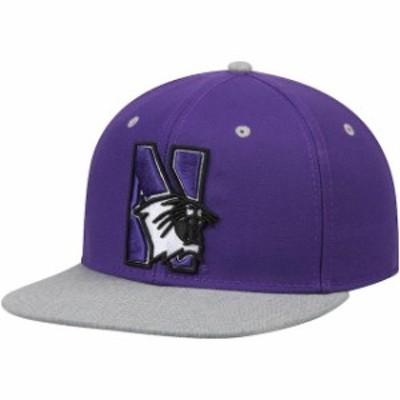 Fanatics Branded ファナティクス ブランド スポーツ用品  Northwestern Wildcats Purple Letterman Adjustable Snapba