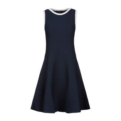 ロベルト コリーナ ROBERTO COLLINA ミニワンピース&ドレス ダークブルー XL レーヨン 83% / ポリエステル 17% ミニワン