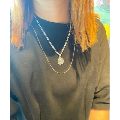 ネックレス 【14 BURNER SELECT】925シルバートップ エリザベス 両面デザイン ネックレス