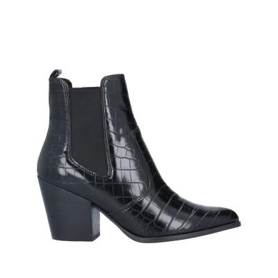 スティーブ マデン STEVE MADDEN ショートブーツ ブラック 5.5 紡績繊維 ショートブーツ