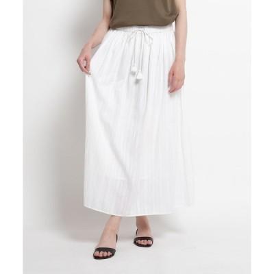 スカート インドスラブロングスカート