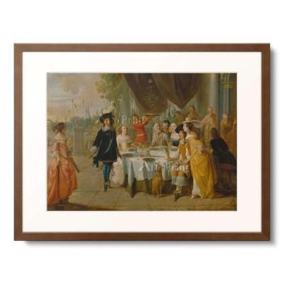 ヒエロニムス・ジャンセン Hieronymus Janssens 「The Minuett.」