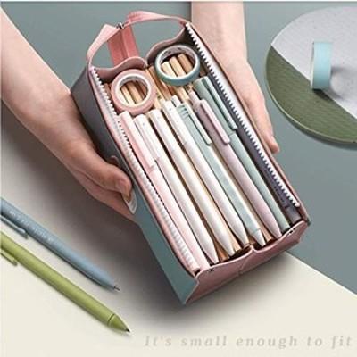 ペンケース 鉛筆ケース可愛い筆入れ ペンケース 大容量 筆箱 シンプル 多機能 防水 耐久性 子供 小学生 中学生 高校生 美術生 多機能 文