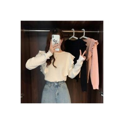 【送料無料】何でも似合う 若くなる デザイン 感 長袖シャツ 初秋 韓国風 ファッション キクラゲな   364331_A63834-1473695