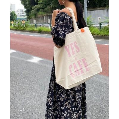 COLLARS / 【KANGOL / カンゴール】 プリント ビッグ トートバッグ WOMEN バッグ > トートバッグ