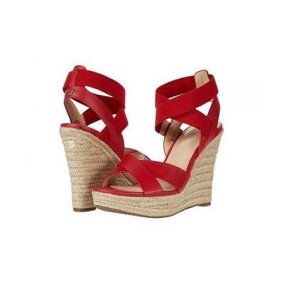 GUESS ゲス レディース 女性用 シューズ 靴 ヒール Teagan - Red