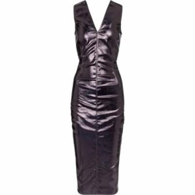 リック オウエンス Rick Owens レディース ワンピース ミドル丈 ワンピース・ドレス coated cotton midi dress Scarab
