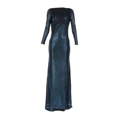 ディースクエアード DSQUARED2 ロングワンピース&ドレス ブルー XS レーヨン 83% / ポリエステル 17% ロングワンピース&ドレス