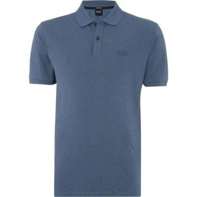 ヒューゴ ボス BOSS メンズ ポロシャツ トップス Pallas Polo Shirt Blue Marl