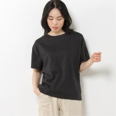 ワイドドルマンTシャツ ネイビー M L