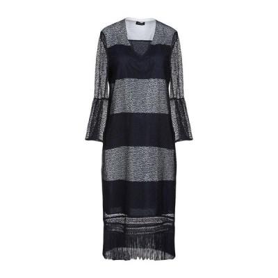 DIANA GALLESI チューブドレス ファッション  レディースファッション  ドレス、ブライダル  パーティドレス ダークブルー