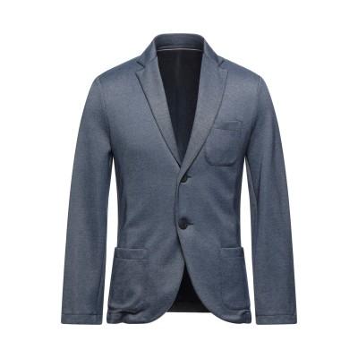 CLAN テーラードジャケット ブルー S コットン 100% テーラードジャケット