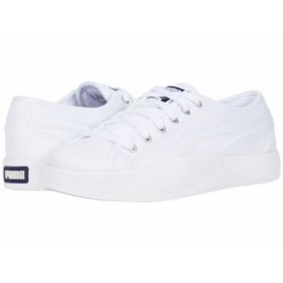 PUMA プーマ レディース 女性用 シューズ 靴 スニーカー 運動靴 Love Canvas PUMA White【送料無料】