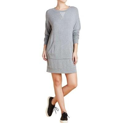 スプレンディッド Splendid レディース ワンピース ワンピース・ドレス Courtside Dress Heather Grey