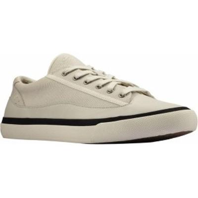 クラークス メンズ スニーカー シューズ Men's Clarks Aceley Lace Sneaker White Canvas