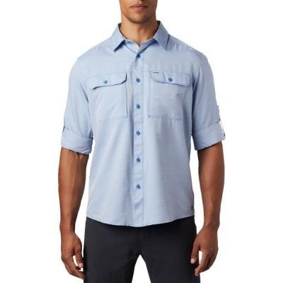 マウンテンハードウェア シャツ トップス メンズ Mountain Hardwear Men's Canyon Long Sleeve Shirt DeepLake