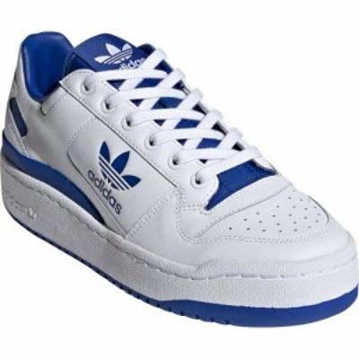 アディダス ADIDAS レディース スニーカー シューズ・靴 Forum Bold Platform Sneaker White/White/Team Royal Blue