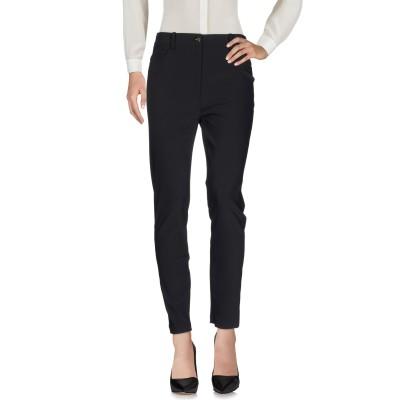 ELISABETTA FRANCHI パンツ ブラック 46 ナイロン 88% / ポリウレタン 12% パンツ