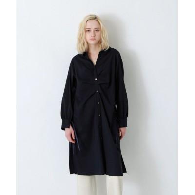(LOVELESS WOMEN/ラブレス)【予約販売】バックディティールシャツドレス/レディース ネイビー