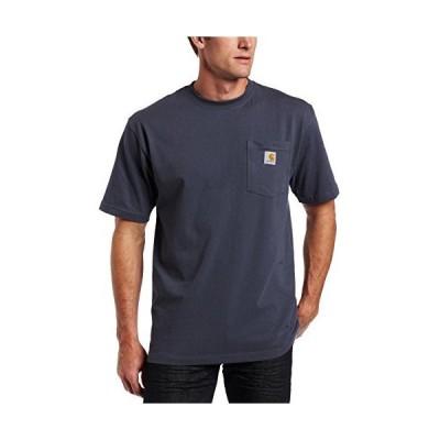 Carhartt (カーハート) メンズ K87 ワークウェア ポケット付き半袖Tシャツ (レギュラーおよびビッグ&トールサイズ)