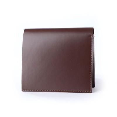 サトリ SATOLI 二つ折財布 (ダークブラウン)