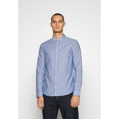 トミーヒルフィガー シャツ メンズ トップス Shirt - blue