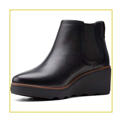 Clarks Women's, Mazy Tisbury Boot Black 6.5 M