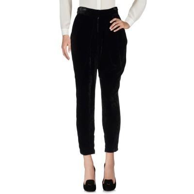 ELISABETTA FRANCHI パンツ ブラック 42 レーヨン 72% / シルク 28% パンツ